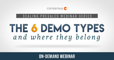 Webinar: The 6 Demo Types and Where They Belong