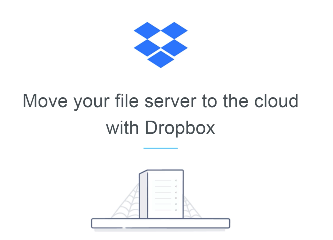 Move your file server to the cloud with Dropbox
