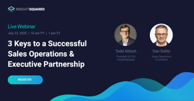 3 Keys to a Successful Sales Operations and Executive Partnership