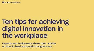 Top Ten Digital Innovation Tips