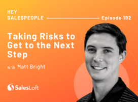Taking Risks To Get To The Next Step with Matt Bright