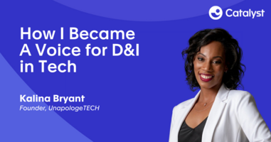 How I Became a Voice for D&I in Tech