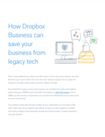 Infrastructure modernization with Dropbox Business