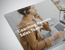 Remote Sales Coaching: Quick Tips, Tools and Best Practices