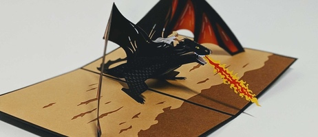 Direct Mail Unboxed: Game of Thrones Pop-Up Card