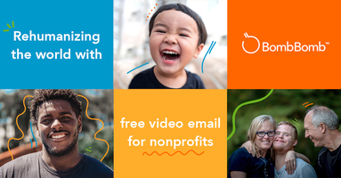 BombBomb Announces Free Video Email for Nonprofits to Help Humanize Charitable Organizations