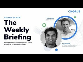 The Weekly Briefing - Using Data to Encourage & Focus Productivity