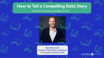 How To Tell A Compelling Data Story