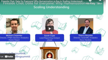 Fireside Chat: Data for Everyone! Why Humanization is Key to Scaling Understanding