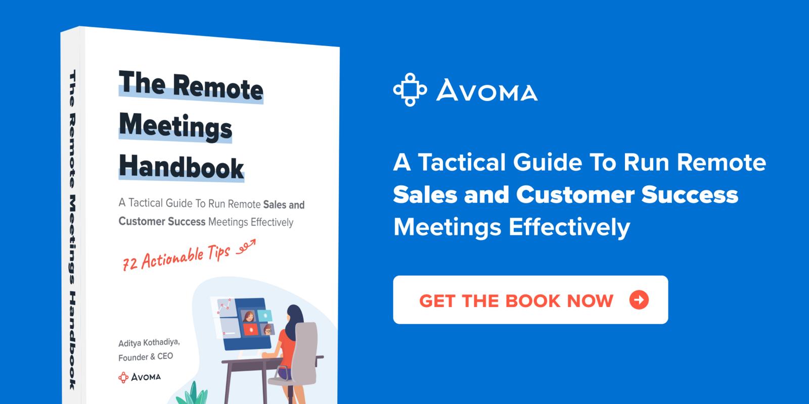 The Remote Meetings Handbook by Avoma