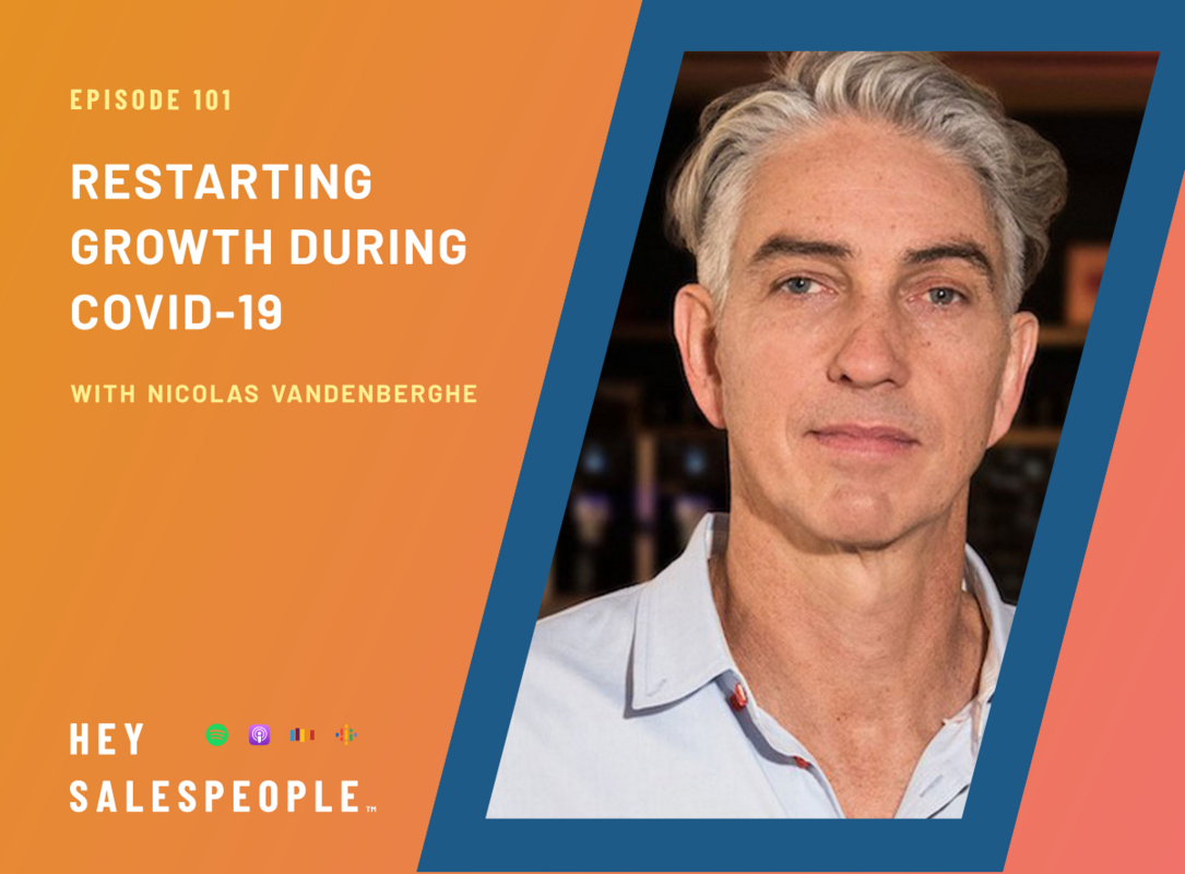 Reading People Better with Nicolas Vandenberghe {Hey Salespeople Podcast}