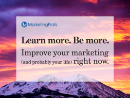 MarketingProfs | Improve your marketing right now. Marketing Training for Professionals.
