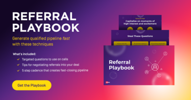 The Sales Referral Playbook