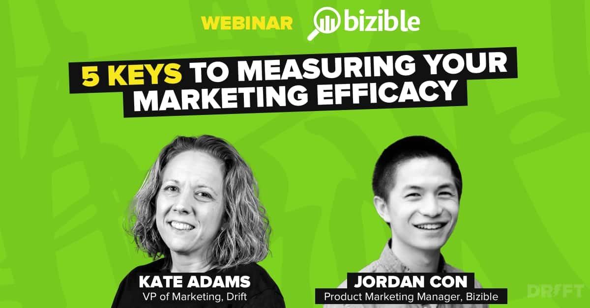 Webinar: 5 Keys to Measuring Your Marketing Efficacy