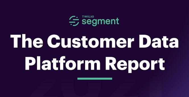 The Customer Data Platform Report 2021