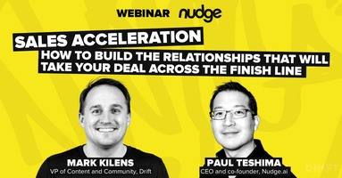 Webinar: Building Relationships to Accelerate Your Sales Cycle
