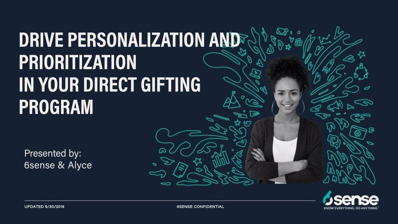 6sense + Alyce | Personalize & Prioritize Direct Gifting