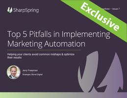 Top 5 Marketing Automation Pitfalls
