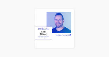 NPS I Love You: A Customer Success Podcast by Catalyst: E33- People Don't Need Features; They Need Outcomes (With Shai Ritblatt, Head of Partner & Customer Success at Sisense) on Apple Podcasts