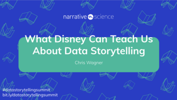 What Disney Can Teach Us About Data Storytelling featuring Chris Wagner   Data Storytelling Virtual Summit