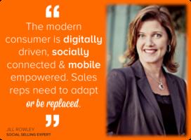 Sales Queen Jill Rowley Shares The 5 Pillars of #SocialSelling [Interview]