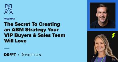 Webinar: The Secret To Creating an ABM Strategy