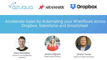 Accelerate sales by automating your workflows across Dropbox and other cloud tools