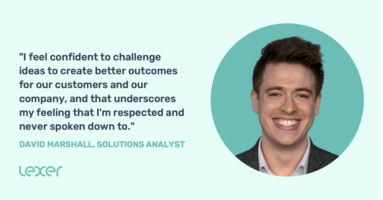 Meet a Lexi: David Marshall, Solutions Analyst