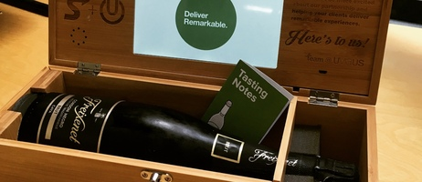 Direct Mail Unboxed: Wine Box Video Mailer from UviaUs [Video]