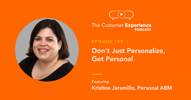 Don't Just Personalize, Get Personal