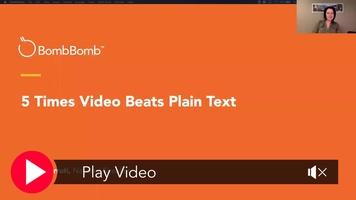 5 Times Video Beats Text Webinar