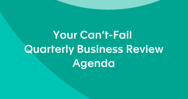 Your Can't-Fail Quarterly Business Review Agenda
