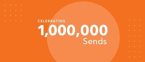 Celebrating One Million Sends with Sendoso