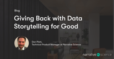 Giving Back with Data Storytelling for Good